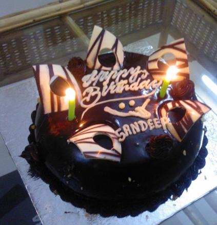 Sandeep Birthday Cake Pic